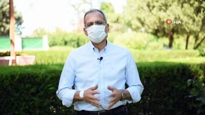 karantina -  Tarsus Belediye Başkanı Bozdoğan korona virüsü yendi