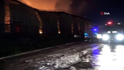 yangina mudahale -  Vali Elban: 'Yangın kontrol altına alındı'