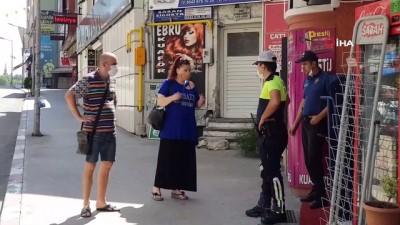 yabanci turist -  Yasaktan haberi olmayan turistler sokaklarda açık banka aradı