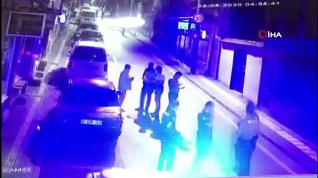pompali tufek -  Bursa'da dehşet anları kamerada...Kör saçmalar yaşlı adamı öldürüyordu