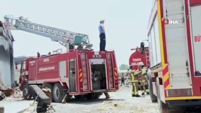 geri donusum -  Bursa'da geri dönüşüm fabrikasında korkutan yangın