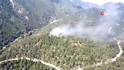 ilk mudahale -  Hatay'da orman yangını