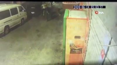 guvenlik kamerasi -  Hırsızlıkla suçlanınca silahıyla dehşet saçtı: 1 ölü