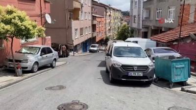 İstanbul'da vatandaşın yarı çıplak kapkapççıları kovaladığı anlar kamerada