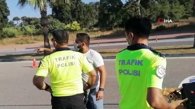 trafik kazasi -  Kazadan sonra, 'sürücü benim' dedi, cezayı duyunca polise yalvardı