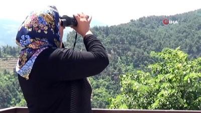 yangina mudahale -  Ormanların 38 yıllık duman bekçisi: Nurten Güler