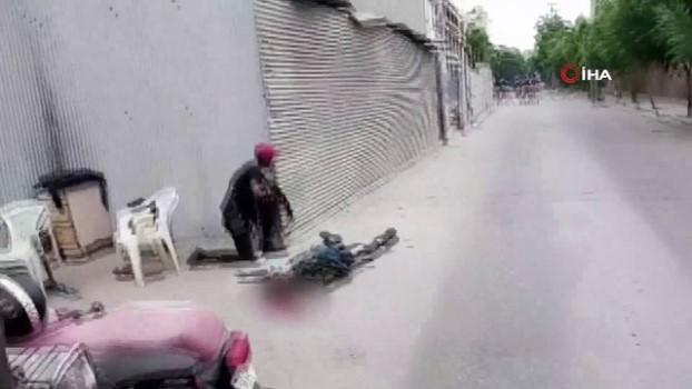 guvenlik kamerasi -  - Pakistan'da borsa binasına yönelik saldırı anının görüntüleri ortaya çıktı