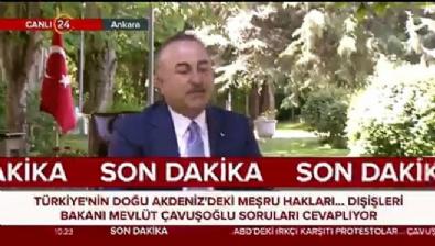 Çavuşoğlu: Türkiye'nin olmadığı hiç bir anlaşma geçerli değildir