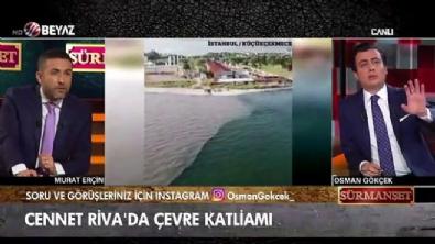 osman gokcek - İşte İBB'nin temizleyeceğiz dediği Marmara'nın son hali!