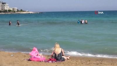 seyahat yasagi -  Tatilciler Mersin'e gelmeye başladı