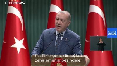 toplanti - Erdoğan: Rabbimizin yasakladığı her türlü sapkınlığı sergileyenlere tavır almaya davet ediyorum