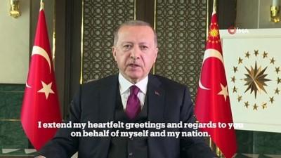 internet sitesi -  Cumhurbaşkanı Erdoğan: 'Şimdiye kadar 102 ülkeye tıbbi malzeme desteğinde bulunduk'