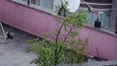 hava sicakliklari -  Samsun'da aniden bastıran sağanak ve dolu etkili oldu