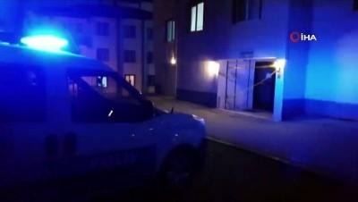 Sungurlu'da bir apartman karantinaya alındı
