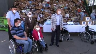 Üsküdar belediyesi çöpten 'hayır' çıkarıyor