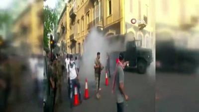 - Lübnan'da çıkan protestolarda 35 kişi yaralandı