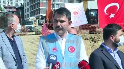 osmanpasa - Çevre ve Şehircilik Bakanı Kurum, Kağıthane'de incelemelerde bulundu - İSTANBUL