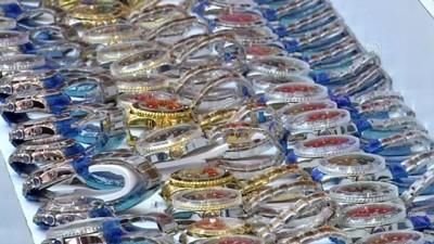 6 bin 88 imitasyon kol saati ele geçirildi (sergi) - İSTANBUL