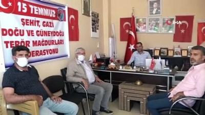 Şehit aileleri ve gazilerden HDP'ye tepki