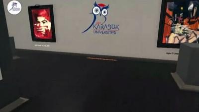 Üniversite öğrencileri mezuniyet sergisini sanal ortama taşıdı - KARABÜK