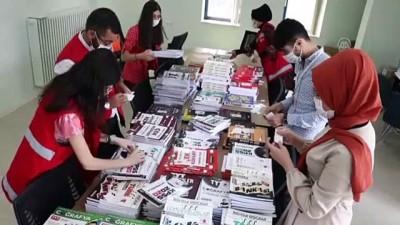 universite ogrencisi - Üniversiteliler depremzede öğrencilerin geleceği için çabalıyor - ELAZIĞ