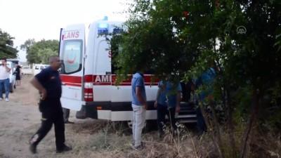 kalp krizi - Aydın'da bir elektrikçi hat bağlamak için çıktığı direkte yaşamını yitirdi