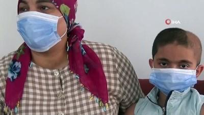Beyin tümörüne yakalanan minik Emir'in yaşaması için 80 bin liraya ihtiyacı var