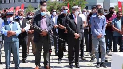 Çatak'taki terör saldırısında şehit olan 2 işçi için tören düzenlendi (2) - VAN