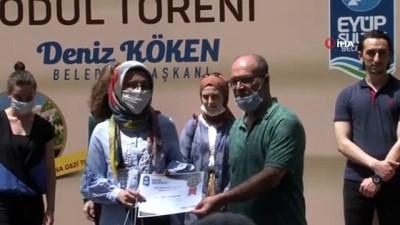 """universite ogrencisi -  Eyüpsultan'da """"Okumak Güzeldir"""" yarışmasında ödüller sahiplerini buldu"""