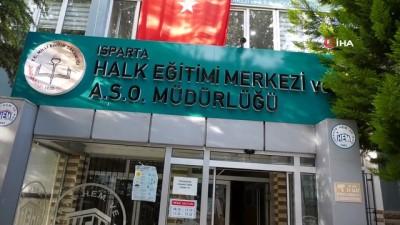 Isparta Halk Eğitim Merkezinde istihdama yönelik kurslar yeniden başladı