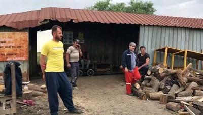 Madende göçük altında kalan 2 işçiyi mesai arkadaşları kurtardı - EDİRNE