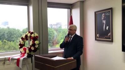 Şehit diplomat Yergüz için Cenevre'de anma töreni düzenlendi - CENEVRE
