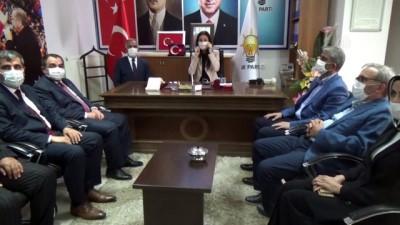 AK Parti Genel Başkan Yardımcısı Karaaslan ve Bakan Yardımcısı Alparslan Muşta