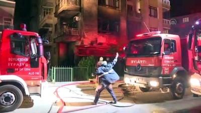 yangina mudahale - Başkentte iş yerinde çıkan yangın büyük çapta hasara neden oldu