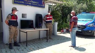 Jandarma, evden çalınan eşyaları bularak sahibine teslim etti - GAZİANTEP