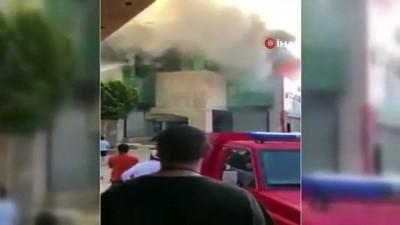 - Libya'da alışveriş merkezinde yangın