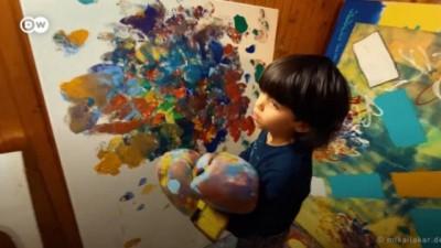 euro - Mikail Akar: 7 yaşındaki büyük ressam