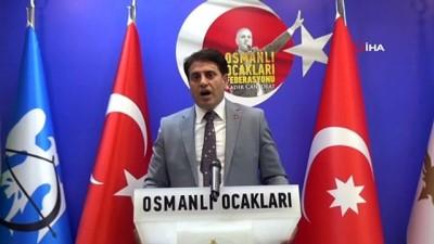 """Osmanlı Ocakları Genel Başkanı Canpolat: """"Osmanlı Ocakları olarak 15 Temmuz'da ölümüne mücadele ettik"""""""