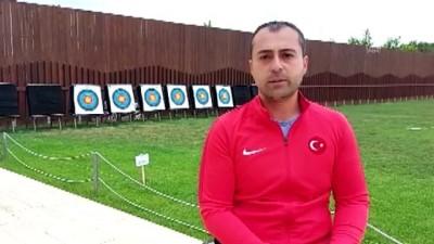 milli sporcular - Paralimpik okçular hedefleriyle açık sahada buluşuyor - ANKARA