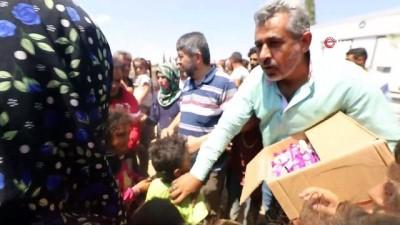 catisma -  - Suriyeli çocukların dondurma sevinci