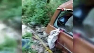 hastane -  Yaşlı çifti feci kaza ayırdı