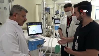 solunum cihazi -  Yerli solunum cihazları Kartal Dr. Lütfi Kırdar Şehir Hastanesi'nde kullanılmaya başlanacak
