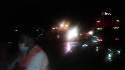 trafik kazasi -  Antalya-Konya yolunda feci kaza: 2 ölü, 4 yaralı