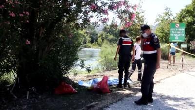Irmağa giren kişi boğuldu - ANTALYA