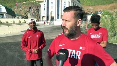 ispanya - Katarlı atletler Palandöken'e hayran kaldı