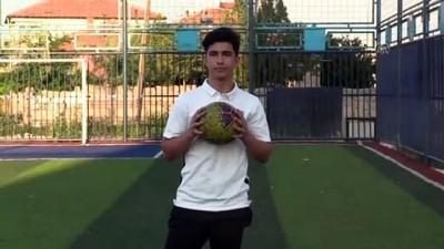 Kayserispor'un genç oyuncusu Eray'ın hedefi milli forma - KAYSERİ