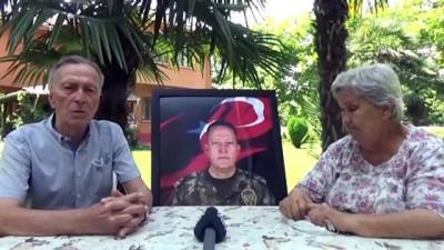 Şehit emniyet müdürü Baysan'ın ailesinin acısı dinmiyor - DÜZCE