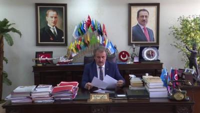 BBP Genel Başkanı Destici: 'Türkiye, artık darbelere geçit olmayacağını 15 Temmuz'da göstermiş oldu' - ANKARA