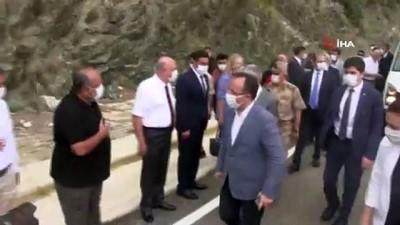 Hatay'da Samandağ-Arsuz yolu açıldı