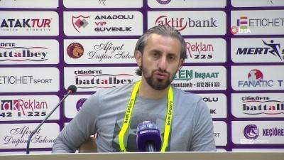 """Serkan Özbalta: """"Bu sene ilk defa 3 gollü bir galibiyet aldık"""""""